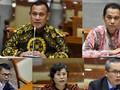 FOTO: Voting Memilih Pimpinan KPK di Tengah Malam Buta