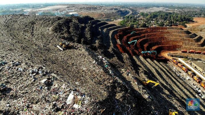 'Gunung' Sampah di RI Ini Bikin Leonardo Dicaprio Prihatin