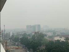 Menhub: Asap Kebakaran Hutan Ancaman Serius Bagi Penerbangan