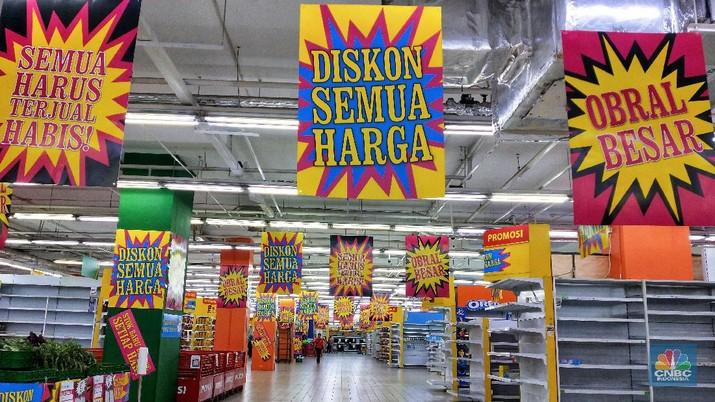 PT Hero Supermarket Tbk (HERO) kembali dikabarkan akan menutup gerai supermarketnya.