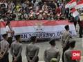 Massa Susulan Datang Gelar Aksi Dukung Revisi UU KPK