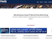 Optima Prima Metal Tetapkan Harga IPO Rp 135 Per Saham