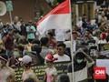 Gedung KPK Kembali Dikepung Massa yang Terlibat Ricuh Kemarin