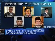 Sah! DPR Tetapkan Komisioner KPK 2019-2023