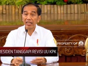 Ini Tanggapan Presiden Jokowi Terhadap Revisi UU KPK