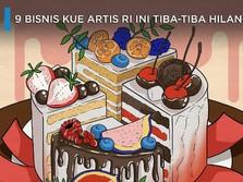Sempat Viral, Apa Kabar 9 Bisnis Kue Artis Ini?