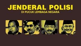 INFOGRAFIS: Jenderal Polisi di Pucuk Lembaga Negara