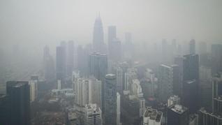 FOTO: Indonesia 'Ekspor' Kabut Asap ke Malaysia dan Singapura