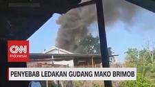 VIDEO: Mencari Penyebab Ledakan Gudang Mako Brimob