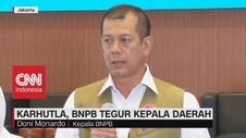 VIDEO: Karhutla, BNPB Tegur Kepala Daerah