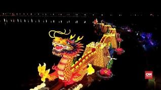 VIDEO: Warna-Wani Lentera di Festival Musim Gugur China