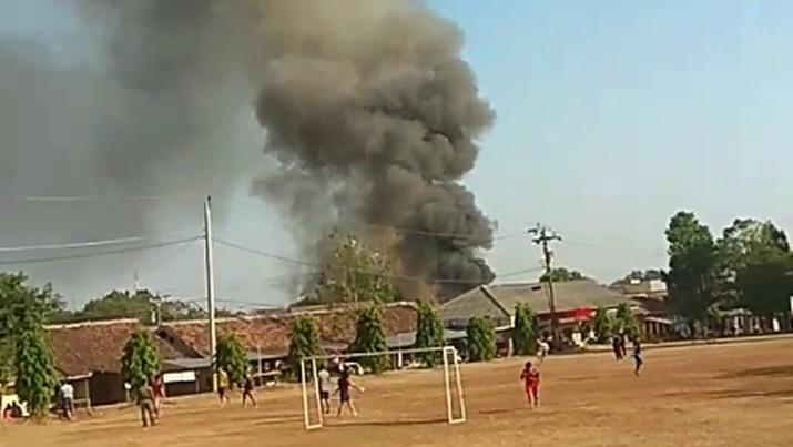 Gudang Amunisi Mako Brimob di Semarang Meledak
