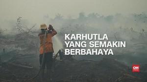 VIDEO: Kebakaran Hutan dan Lahan yang Semakin Berbahaya