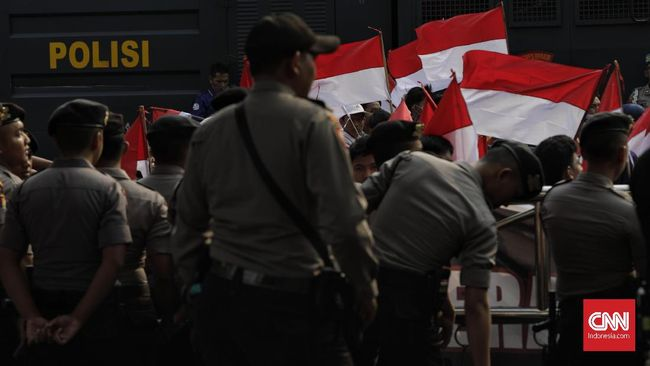 Demo Bubar, Seratus Polisi Disiagakan Jaga KPK