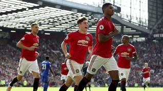 Hasil Liga Inggris: MU Menang atas Leicester 1-0