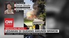 VIDEO: Warga Dengar 4 Kali Ledakan dari Gudang Mako Brimob