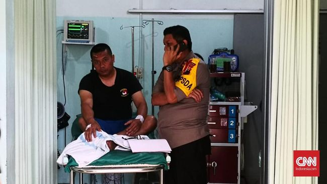 Kaden Gegana Korban Luka-luka Ledakan di Mako Brimob