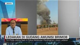 VIDEO: Penjelasan Polri Soal Ledakan di Gudang Brimob
