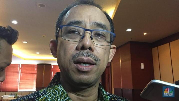 Foto Heru Pambudi - Dirjen Bea dan Cukai Kemenkeu (CNBC Indonesia - Monica Wareza)