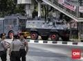 Usai Rusuh, Kendaraan Water Cannon dan Barracuda Siaga di KPK
