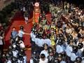 Polisi Hong Kong Tembak Gas Air Mata di Pusat Perbelanjaan