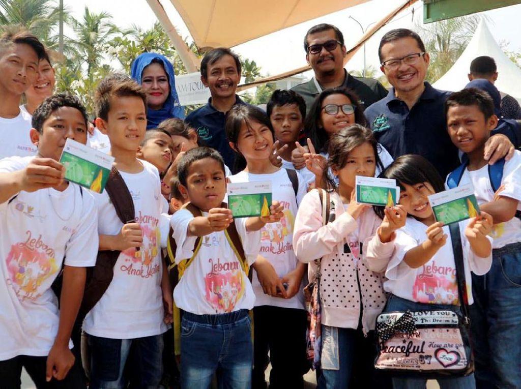 Berbagi Bersama di Lebaran Anak Yatim