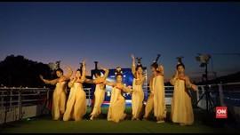 VIDEO: Festival Musim Gugur Pelajar China di Atas Kapal