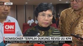 VIDEO: Komisioner KPK Terpilih Dukung Revisi UU KPK