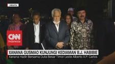 VIDEO: Xanana Gusmao Kunjungi Kediaman BJ Habibie