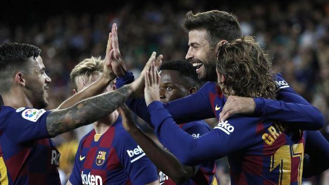 Hasil Liga Spanyol: Barcelona Hancurkan Valencia 5-2