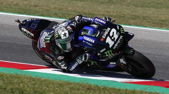 Hasil FP2 MotoGP Aragon: Vinales Tercepat, Rossi Kedua