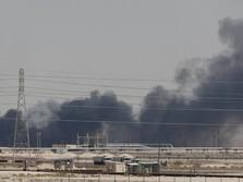 Dua Kilang Minyak Saudi Aramco Diserang Drone