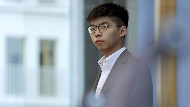 China Dukung Hong Kong Larang Aktivis Joshua Wong Ikut Pemilu