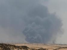 Alert! Rudal Serang Fasilitas Minyak Saudi Aramco di Jeddah