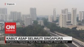VIDEO: Indonesia 'Ekspor' Kabut Asap ke Singapura