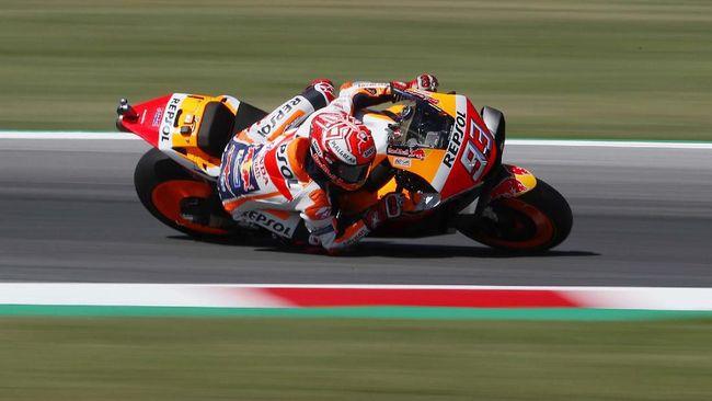 Hasil MotoGP Aragon: Marquez Menang Mudah Atas Dovizioso