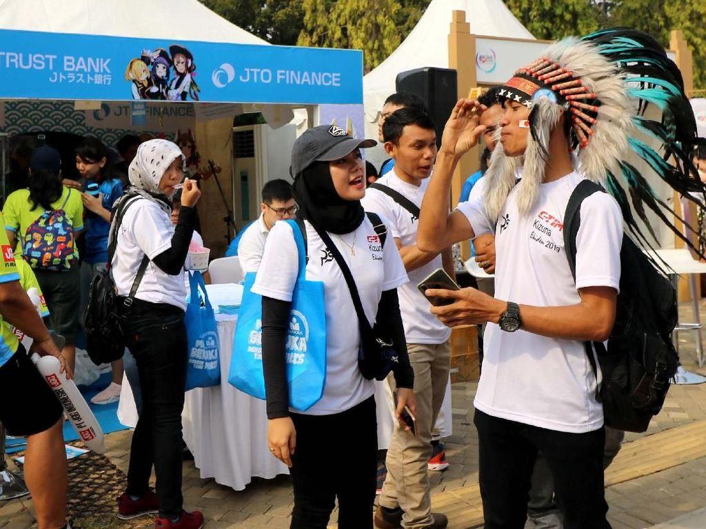 Keseruan di Jakarta Kizuna Ekiden 2019