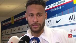 VIDEO: Komentar Neymar Soal Gol Kemenangan PSG dan Cemooh Fan