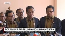 VIDEO: Respons Jokowi Soal Penyerahan Mandat 3 Pimpinan KPK