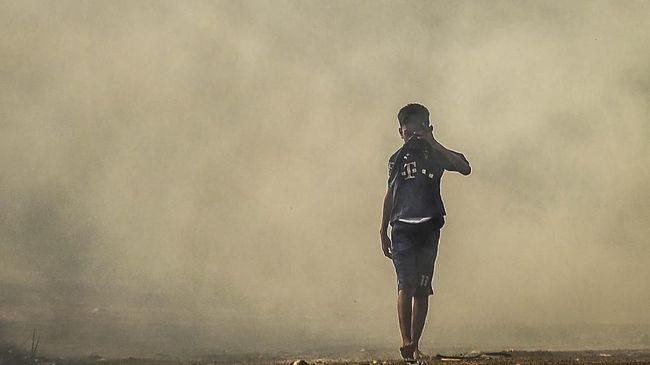 Kronologi Bayi Meninggal Diduga karena Kabut Asap Palembang