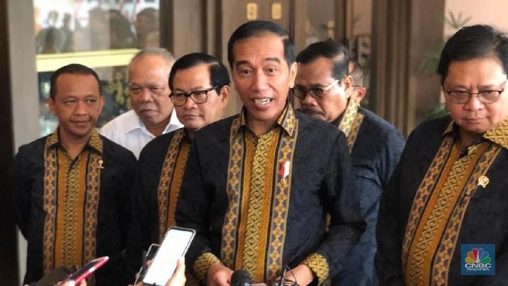 Jokowi: Jangan Emosi Antek Asing, Antek Aseng