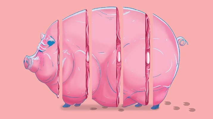 Upaya China untuk menghentikan penyebaran demam babi Afrika tak signifikan alias gagal.