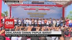 VIDEO: Deklarasi Damai Papua Barat