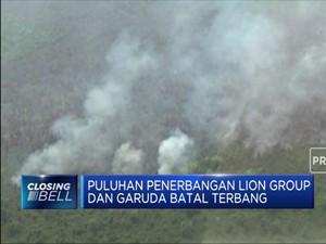 Lion Dan Garuda Tunda Penerbangan Karena Asap Di Riau