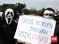 Demo RKUHP di DPR, Orator Sindir Rapat Pembahasan di Hotel