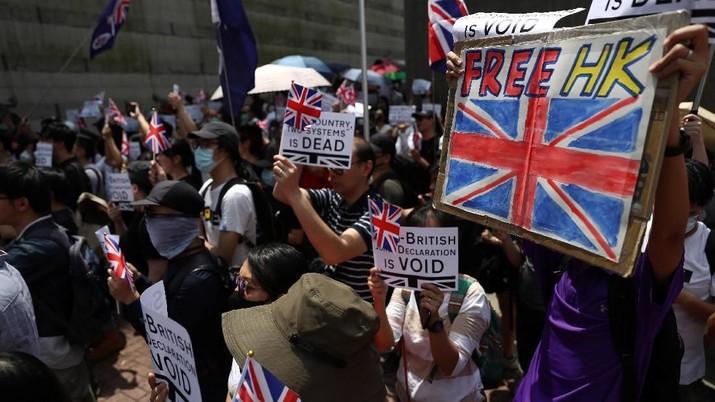 Demo Hong Kong sudah terjadi selama 100 hari
