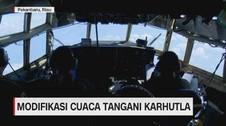 VIDEO: Begini Modifikasi Cuaca Tangani Karhutla di Riau