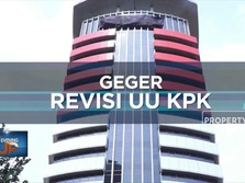 Geger Revisi Undang-Undang KPK
