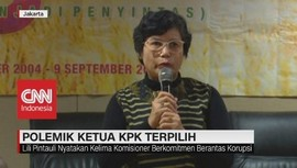 VIDEO: Polemik Ketua KPK Terpilih