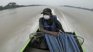 Kualitas Udara Jambi Kembali Buruk pada Minggu Pagi